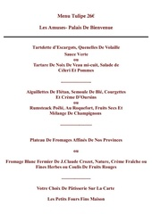 Fichier PDF menu tulipe