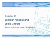 chapter 06 boolean algebra