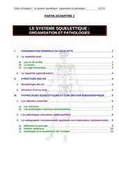 chapitre 1 le systeme squelettique