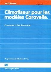 climatiseur vw t3 caravelle