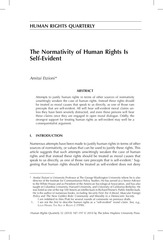 la normativite des droits de l homme