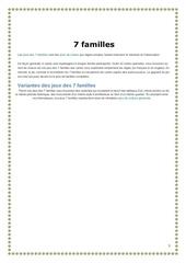 7 familles