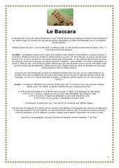 Fichier PDF baccarat