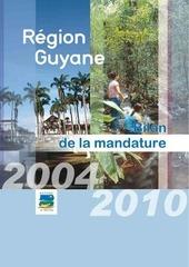 bilan mandature 2004 2010