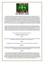 black jack cartes