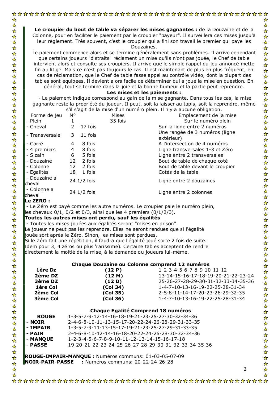 Aperçu du document La roulette.pdf - page 2/4