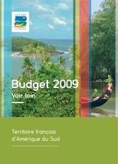 region guyane budget 2009