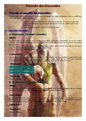 capacite et pouvoirs des draconides repertories