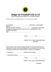 stage de football u12 4