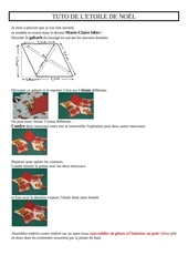 Fichier PDF tuto etoile de noEl