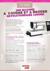 Fichier PDF communique presse janome horizon memory craft 12000 2011 12 02