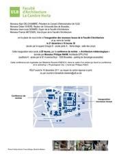 invitation archi 21 dec 2011