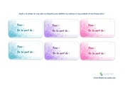 Fichier PDF 6 etiquettes cadeaux