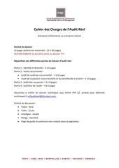 Fichier PDF cahier des charges audit reel