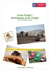 dossier sponsoring green trophy