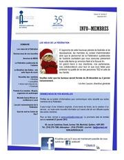 info membres vol 10 no 5 decembre 2011