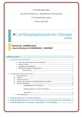 les infections postoperatoires 1
