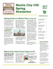 newsletter spring2011