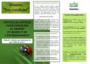 projet eco challenge 2012 parma for maroc leaflet 1