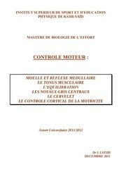 recapitulatif motricite2011