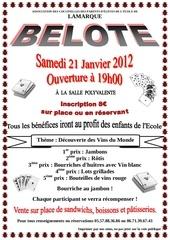 belote du samedi 21 janvier 2012 version couleur avec dessins version 2