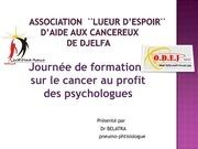 Fichier PDF journee de formation sur le cancer au profit des psychologue dr belatra