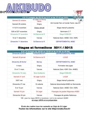 1111 cirabn calendrier des stages 2011 2012