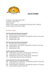 Fichier PDF celtic stomp d