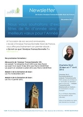 lettre d information decembre 2011