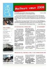 lettre partenaires 2008