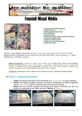 Fichier PDF tuto eventail mixed media