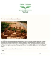 two day excursion ouarzazate zagora