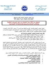 communique du conseil national umt
