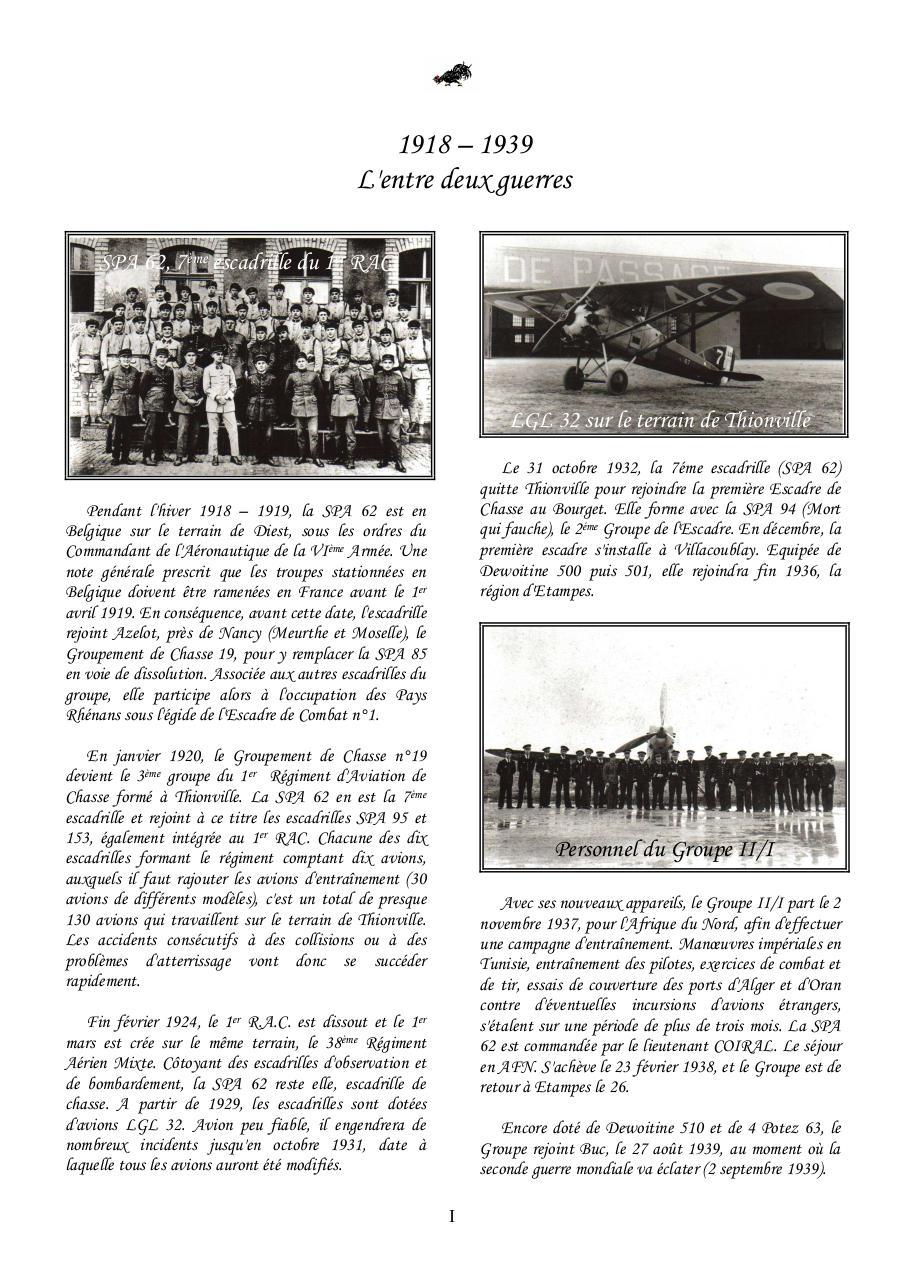 Historique Spa 62 1918 2011 Par Famille Fichier Pdf
