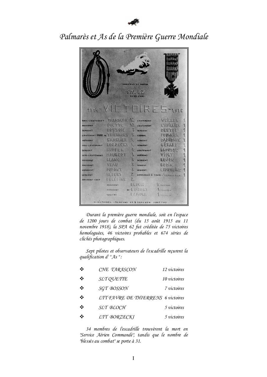 Aperçu du document HISTORIQUE SPA 62 document annexes.pdf - page 1/17