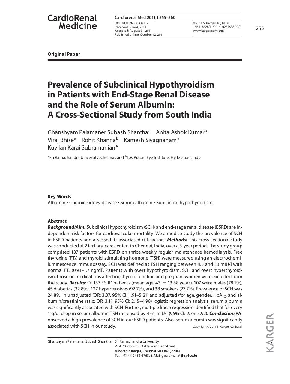 Prevalence of Subclinical Hypothyroidism.pdf - page 1/6