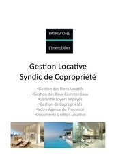 patrim one immobilier gestion location