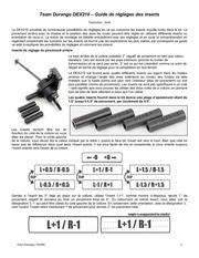 dex210 guidereglageinserts