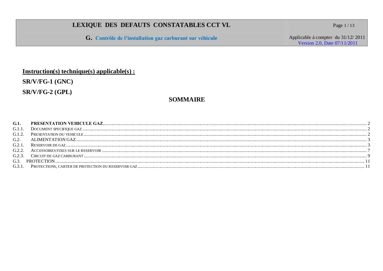 Fonction G GAZ version 2.0 du 07-11-2011 applicable le 31-12-2011.pdf - page 1/13