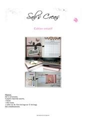 Fichier PDF tuto cahier creatif