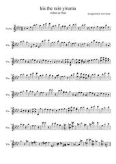 Fichier PDF yiruma violon rivers flow in you