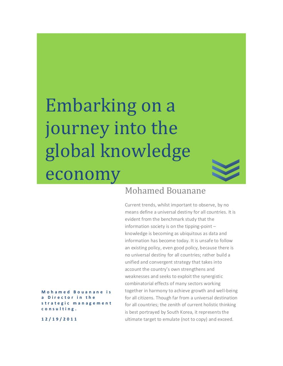 Embarking on a journey into the global knowledge economy.pdf - page 1/8