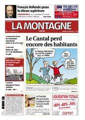la montagne cantal 04 janvier 2012