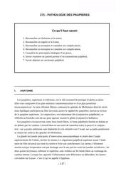 Fichier PDF 271 paupieres