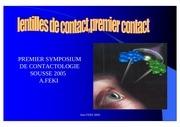 Fichier PDF lentilles de contact premier contact 2005