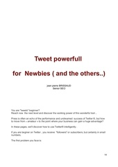 Fichier PDF tweet4newbies