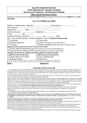 bulletin resa cure prospects 2012 prix encore givres noel 2011