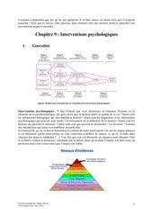 chapitre 9 interventions psychologiques
