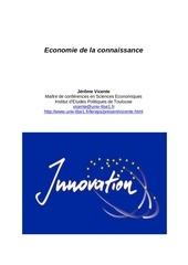 economie connaissance