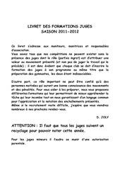 livrets juges 2011 2012